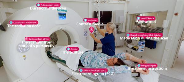 Verkko-oppimateriaalit tukevat röntgenhoitajaopiskelijoiden oppimista