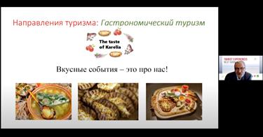 Kuvakaappaus Victor Bychkovin puheenvuorosta.