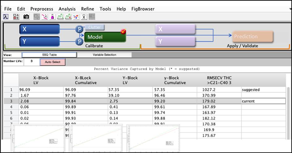 Kuvakaappaus Matlab-ohjelmistosta.